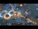 Конец первой игры Team Secret vs Virtus.pro