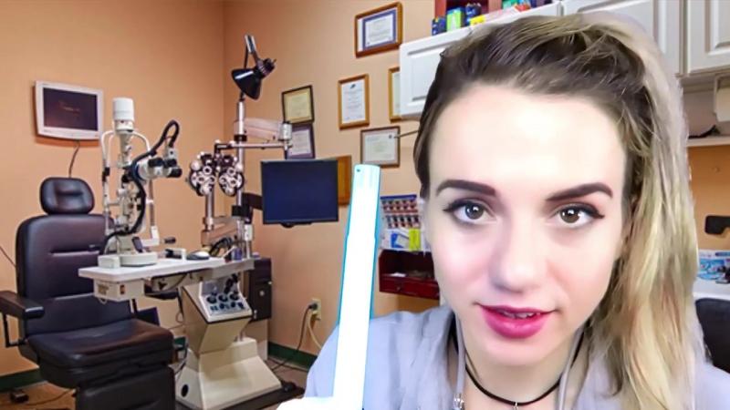 [Cosmic Tingles ASMR] ASMR Cranial Nerve Exam Doctor Role Play