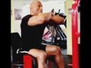 DWAYNE ROCK JOHNSON'S Workout in Budapest Hercules FOCUS