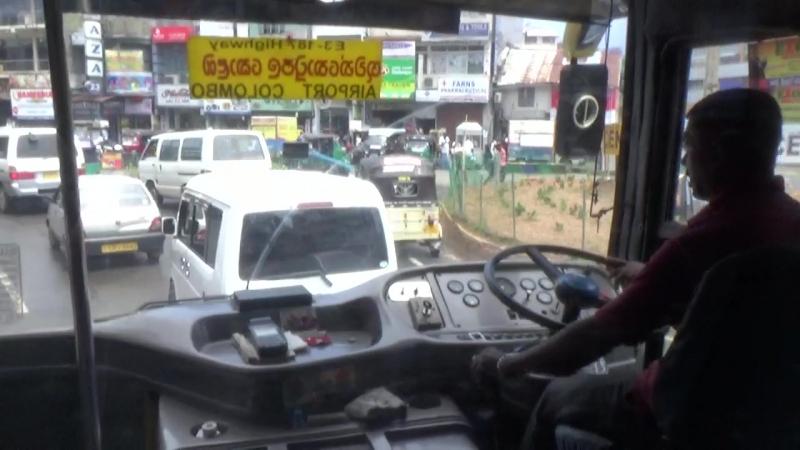 MAH00536 Хаос в столице Шри-Ланка, г. Коломбо (июль 2017) ч. 2