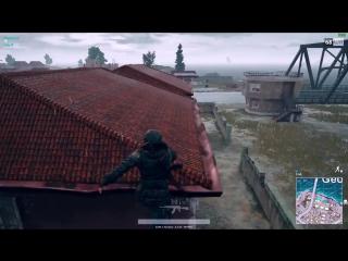 Легко забираемся на крышу | PLAYERUNKNOWNS BATTLEGROUNDS | PUBG