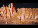 Мясо в духовке Гармошка: ароматная свинина запеченная в духовке
