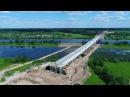 Мост через Волхов, пересечение с дорогой Савино — Селищи, 538-541 км, 17 июня 2017 года