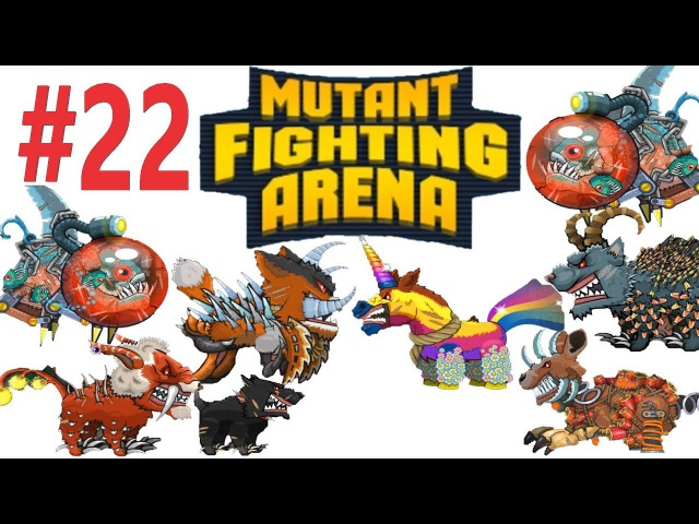 Mutant Fighting Arena - Lion second mutation (Part 22)