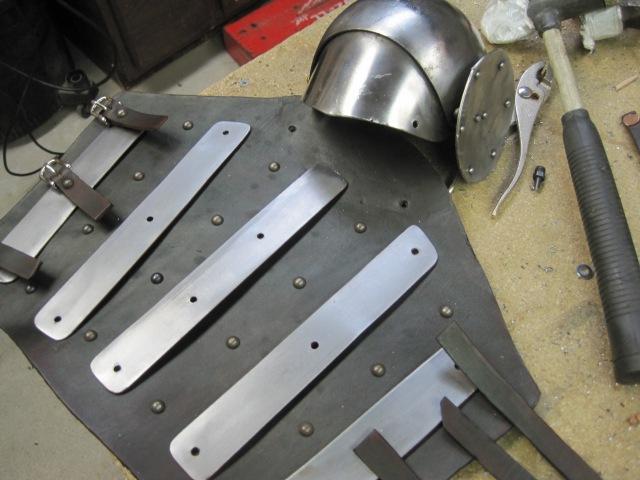 Splinted Arm Harness Build