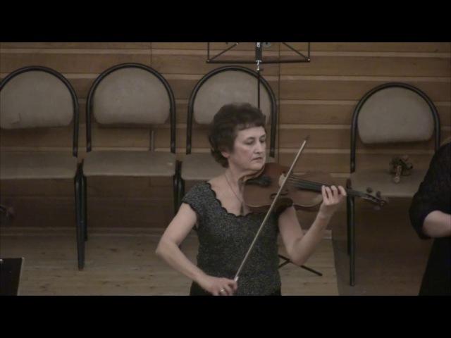 Ансамбль скрипачей Nota Artistica. Концерт, часть 2. Новосибирск, 2017