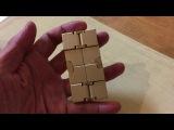 Металлический Бесконечный куб. Infinity Cube metal. i-prize.ru