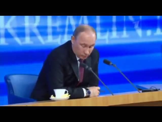 Женщина задала вопрос Путину о Газпроме