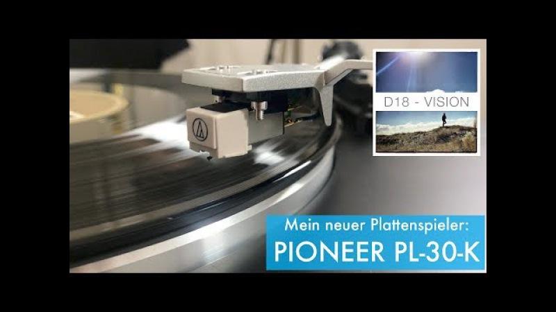 Plattenspieler PIONEER PL-30-K (Unboxing und erster Eindruck)