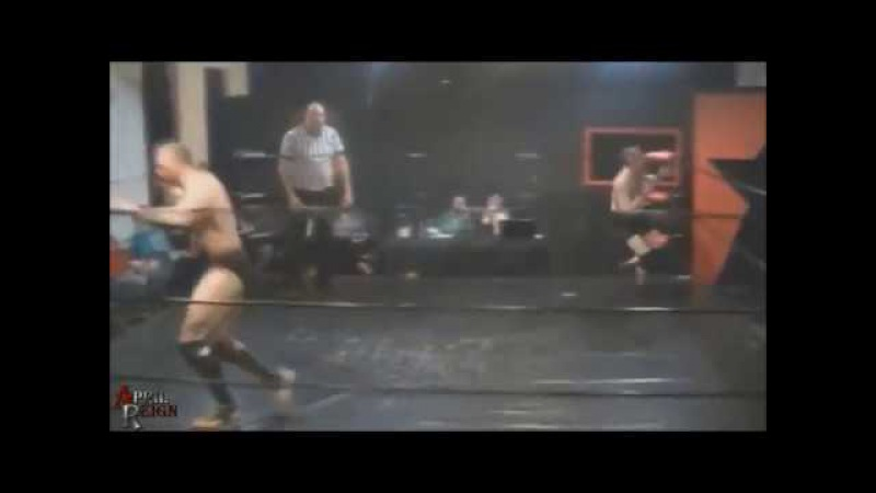 Biff Busick Finisher Running Blockbuster