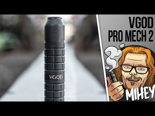 VGOD PRO Mech 2 Kit with Elite RDA. Красавец! 🎷🎻🎸🎹