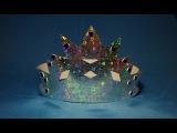 Простая корона на новый год. Новогодние поделки для детей. DIY