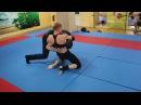 Russian mixed wrestling . Arina Fox average statistical man