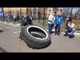 Пожарный кроссфит в Москве / firefighter crossfit in Russia, Moscow