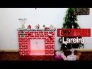 DIY Lareira decorativa   Especial Natal 3