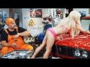 Приколы про девушек в автосервисе тупая блондинка на СТО - НА ТРОИХ лучшее ДИЗЕЛ...