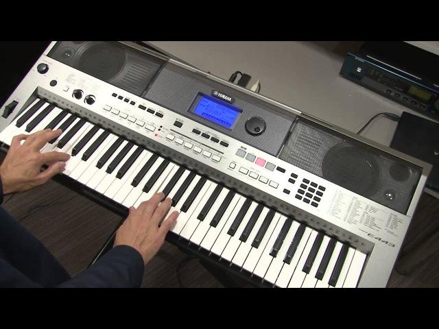 Режимы исполнения SPLIT и DUAL на инструменте Yamaha PSR-E443