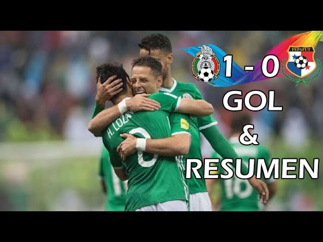 Mexico vs Panama 1-0 Gol y Resumen Eliminatorias 2017