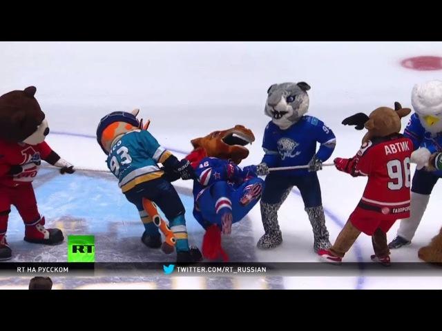 Звёздный уик-энд в Астане прошло мастер-шоу Матча звёзд КХЛ