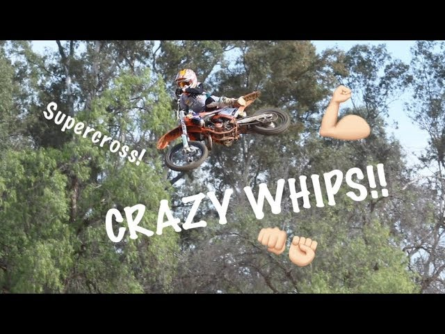 Go inside the Deegan compound to ride the Private SX track !!