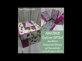 Amazing Exploding Gift Box With Pull Out Draws!