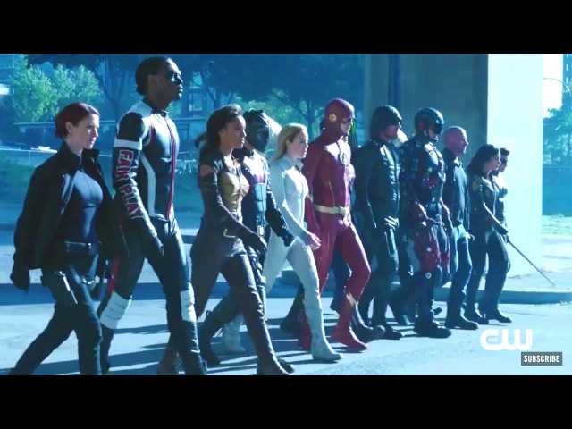 Кризис на Земле-X | Crisis on Earth-X Crossover Official Extended Full Trailer | The CW