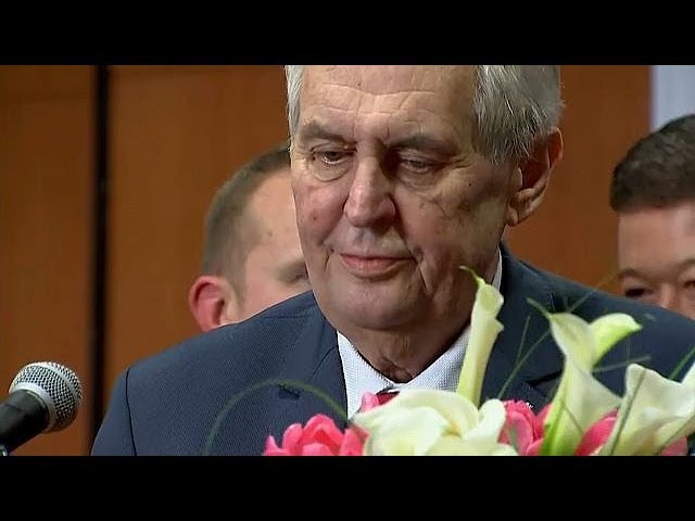 Милош Земан получил второй мандат и не хочет третьего