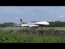 Qatar VIP B747-8i VQ-BSK @ Hamburg Airport 4K