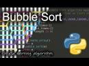 Bubble Sort: Background Python Code