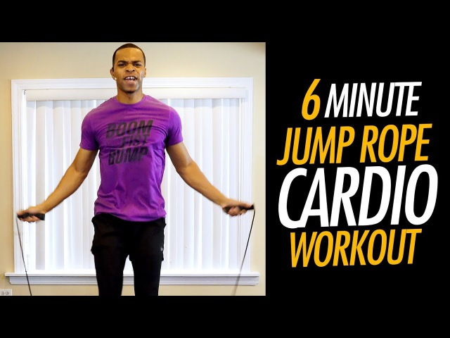 Тренировка со скакалкой 4 6 Minute Fast Jump Rope Workout to Lose Weight Jumping Rope Routine for Fat Loss