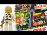 Обзор журнала The Lego NinjaGo Movie #1 Ллойд Ву-Кру / The Lego NinjaGo Movie Magazine #1