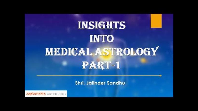 Insights Into Medical Astrology By Shri.Jatinder Sandhu : PART 1