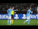 Manchester City vs Juventus / UEFA Champions League 2018 / Gameplay PES 2018