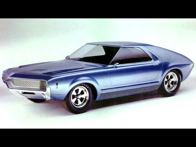 AMC AMX I Concept Car '1965