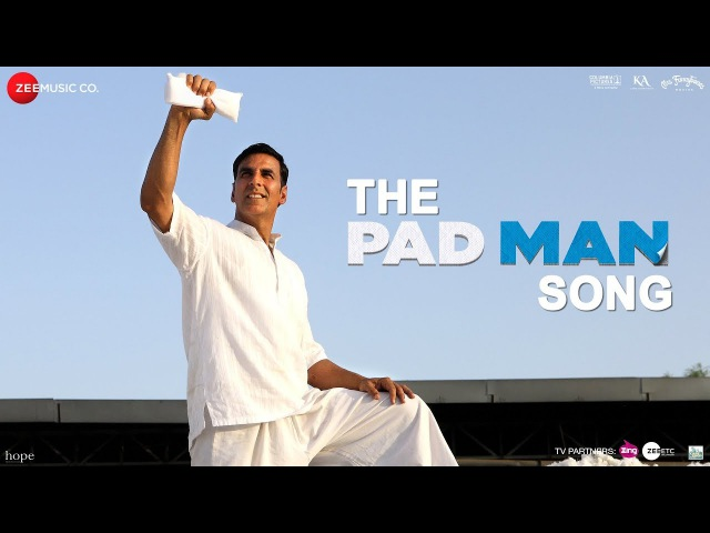 The Pad Man Song   Padman   Akshay Kumar Sonam Kapoor   Mika   Amit Trivedi   Kausar   Superhero