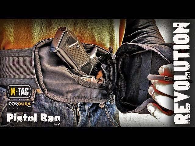 СУМКА-КОБУРА REVOLUTION PISTOL BAG ELITE BLACK М-ТАС