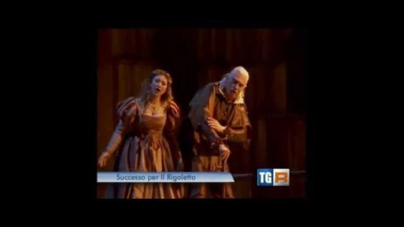 TG3 Campania - Rigoletto al Teatro San Carlo di Napoli