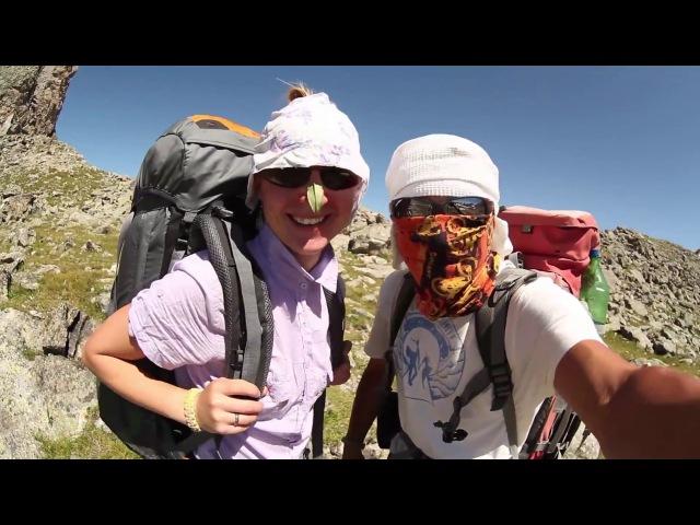 WtoI News 02 08 2017 Кара Джаш Поднимаемся на перевал Жесткое солнце в горах