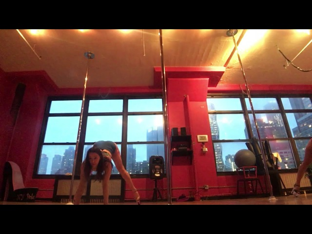Exotic pole dance - Over by Honors