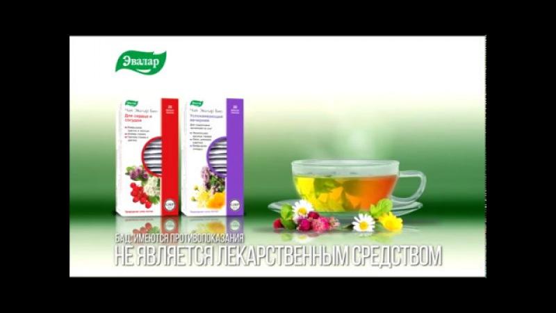 Чай Эвалар БИО. Природная сила Алтая в коллекции травяных чаев.