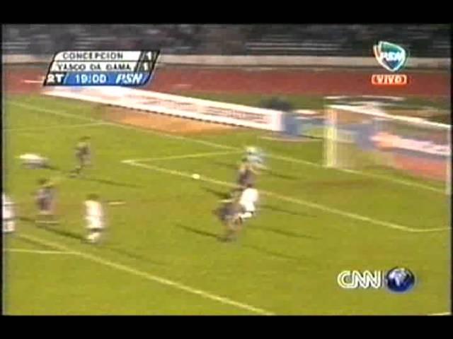 Gols Concepción 1 3 Vasco da Gama Copa Libertadores 2001 Oitavas de finais jogo 1