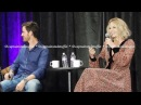 Jennifer Morrison and Colin O'Donoghue CCSF OUAT Gold Panel Part 1