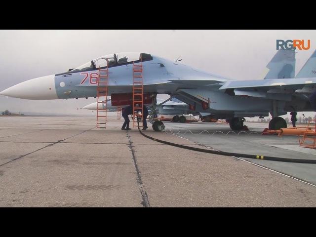 Курские летчики опробовали истребители класса