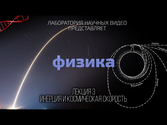 Физика Лекция 3 Инерция и Космическая Скорость abpbrf ktrwbz 3 bythwbz b rjcvbxtcrfz crjhjcnm