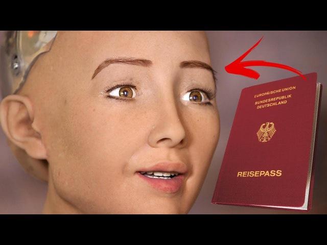 Erster Roboter der Welt bekommt menschliche Staatsbürgerschaft | MythenAkte