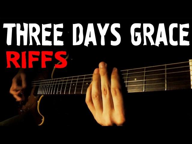 TOP 10 THREE DAYS GRACE RIFFS