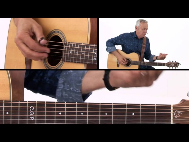 Tommy Emmanuel Guitar Lesson House of the Rising Sun Breakdown