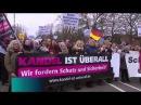 Großer Trauermarsch für ermordete Mia in Kandel – SPD-Bürgermeister bei Gegendemo