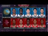 【NBA】Golden State Warriors vs Houston Rockets - Full Game Highlights Jan 4, 2018 NBA Season