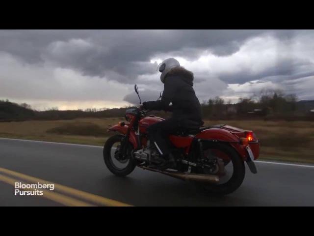 Видео: Русский мотоцикл УРАЛ глазами американцев